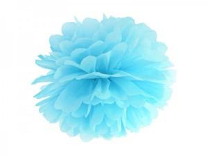 pompoms blau